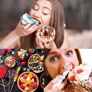 употребление сладостей